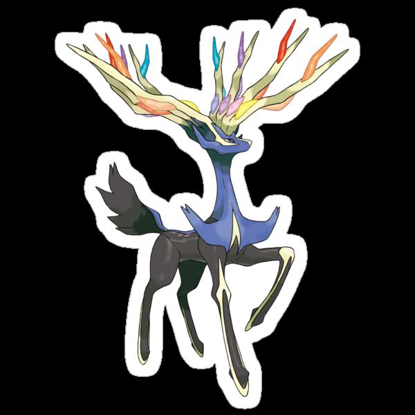 Xerneas - Pokemon by leaficia