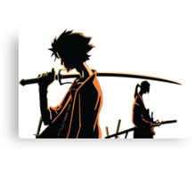 Samurai Champloo Canvas Print