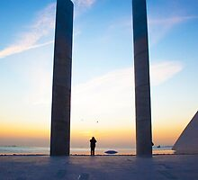 a man and two birds by terezadelpilar~ art & architecture