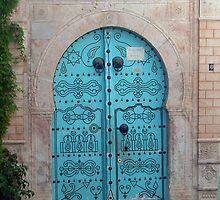 Medina Door by Tom Gomez