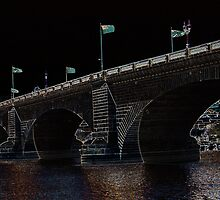 London Bridge Glowing by tvlgoddess