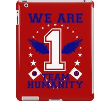 Humanity First America W/B iPad Case/Skin