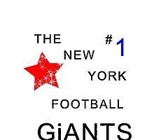 The new york football giants #1 by BigWorm818