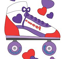 Colorful heartskates by trennea