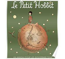 Le Petit Hobbit Poster