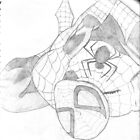 Spiderman sketch by DaveM