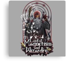 Lord of Magnetism and Wizardry Canvas Print