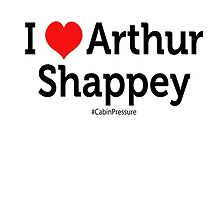 I Love Arthur Shappey by cabinpressure
