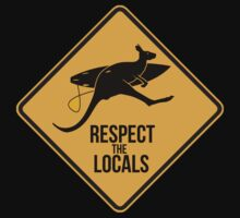 Respect the real locals. Kangaroo version. Australia surf. by 2monthsoff