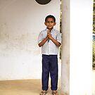 Indian Boy by Rebecka Wärja
