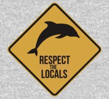Respect the dolphins, respect the locals. Surf. by 2monthsoff