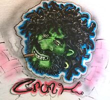 crunk t by Airbrushr  Rick Shores