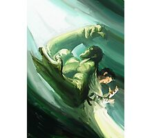 The Impressionable Hulk Photographic Print