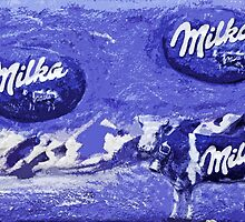 "Exclusive: "" Milka "" / My Creations Artistic Sculpture Relief fact Main 23  (c)(t) by Olao-Olavia / Okaio Créations by okaio caillaud olivier"