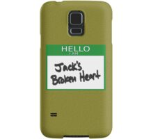 "Fight Club: ""I AM JACK'S BROKEN HEART Samsung Galaxy Case/Skin"