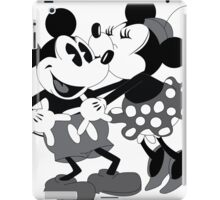 Vintage Mickey And Minnie Mouse  iPad Case/Skin