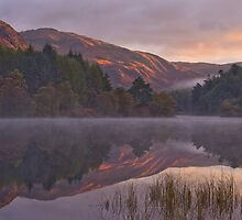 Sunrise in Glentrool by Robert Strachan