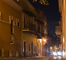 Headlights in San Juan by Michael Anderson
