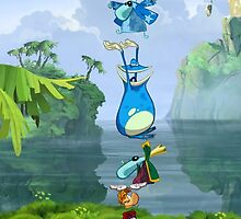Rayman & Friends Case by Cyberbob