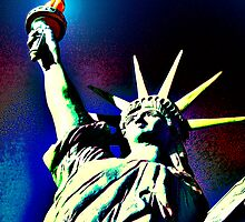 Lady Liberty by Tracy Bollinger