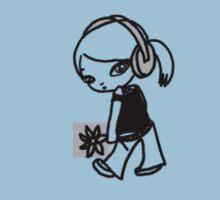 Girl M (Small Image)T-Shirt by Midori Furze