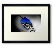 Reflections of me... Framed Print