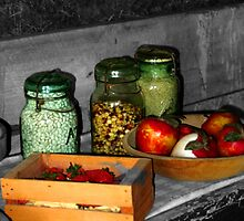 Canning Time on The Praire by Tim Denny