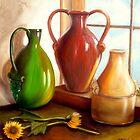 """Primarily Jugs"" by Susan Dehlinger"