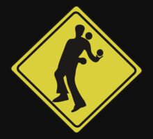 WARNING JUGGLER ROAD SIGN by SofiaYoushi