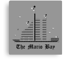 The Mario Bay (Print Version) Canvas Print