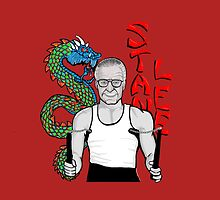 "stan ""the dragon"" lee by gjnilespop"