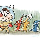 Pikmin by Chris Maghintay