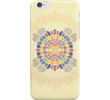 Supernova explosion - Voronoi iPhone Case/Skin