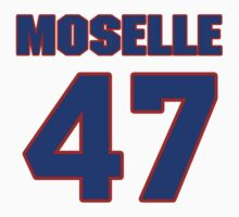 National football player Dom Moselle jersey 47 by imsport