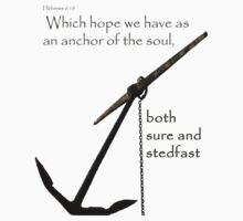 Hebrews 6:19 - whole anchor by William Blair