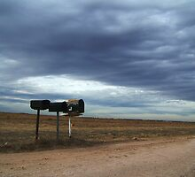 Rural Mailboxes by amandameans