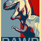 RAWR! American TREX Hope Spoof by strayfoto