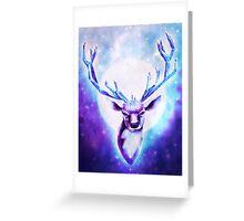 Crystal Deer Greeting Card