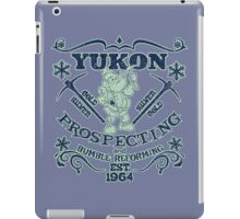 Yukon Prospecting and Bumble Reforming iPad Case/Skin