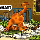 WHAT Cat - Dinner Table by Martine Carlsen