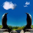 Pinguins in Stone by tintinian