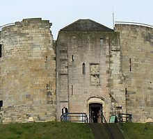 York's Clifford's Tower by AARDVARK