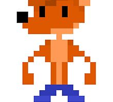 Crash Bandicoot Pixel by paasikivi93