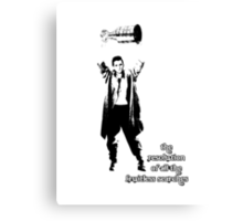 to know the Stanley Cup is to love him.... Canvas Print