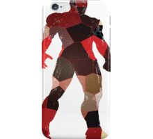 robot silhouette tshirt  iPhone Case/Skin