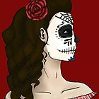 Mexican Skull by cailinB