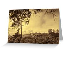 A Misty Morning in Westerway #3 Greeting Card