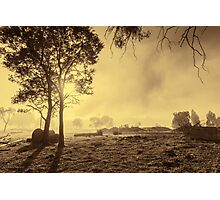 A Misty Morning in Westerway #3 Photographic Print