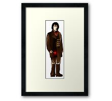 The War Doctor - John Hurt Framed Print