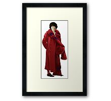 The 4th Doctor - Tom Baker Framed Print